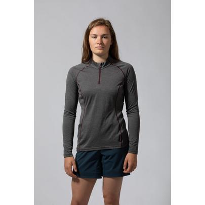 Montane Women's Dart Zip-Neck - Grey