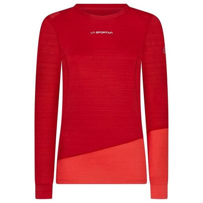 La Sportiva Women's Dash Long Sleeve Base Layer - Grape Hibiscus
