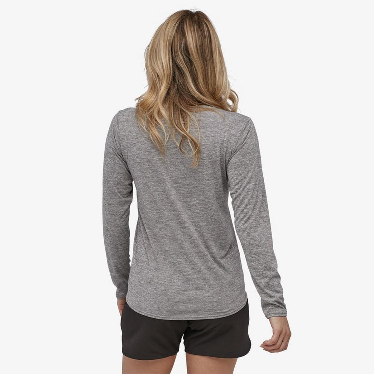 Patagonia Women's Patagonia Cap Cool Graphic LS T-shirt - Grey