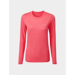 Women's Ron Hill Tech LS Tee - Pink