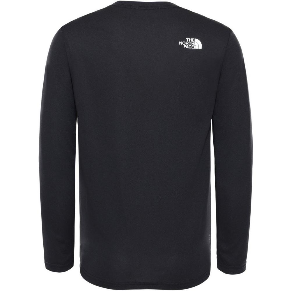 The North Face Kids' The North Face Reaxion LS T-Shirt - Black