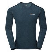 Men's Dart L/S T-Shirt - Blue