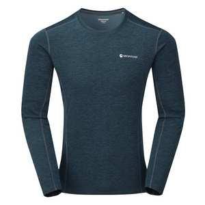 Men's Long Sleeved Dart T-Shirt - Orion Blue