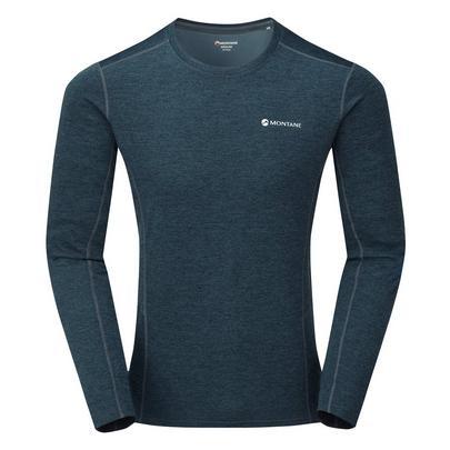 Montane Men's Long Sleeved Dart T-Shirt - Orion Blue