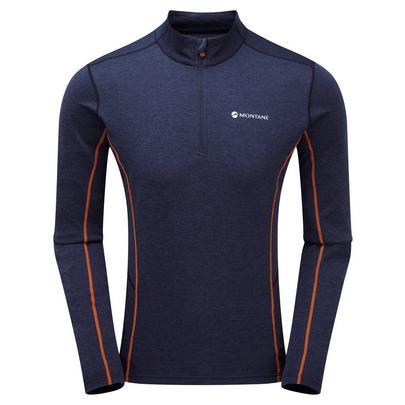 Montane Men's Dart Zip Neck - Antarctic Blue