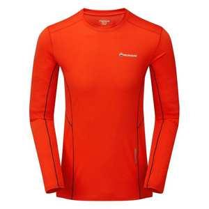 Men's Sabre Long Sleeved T-Shirt - Flag Red