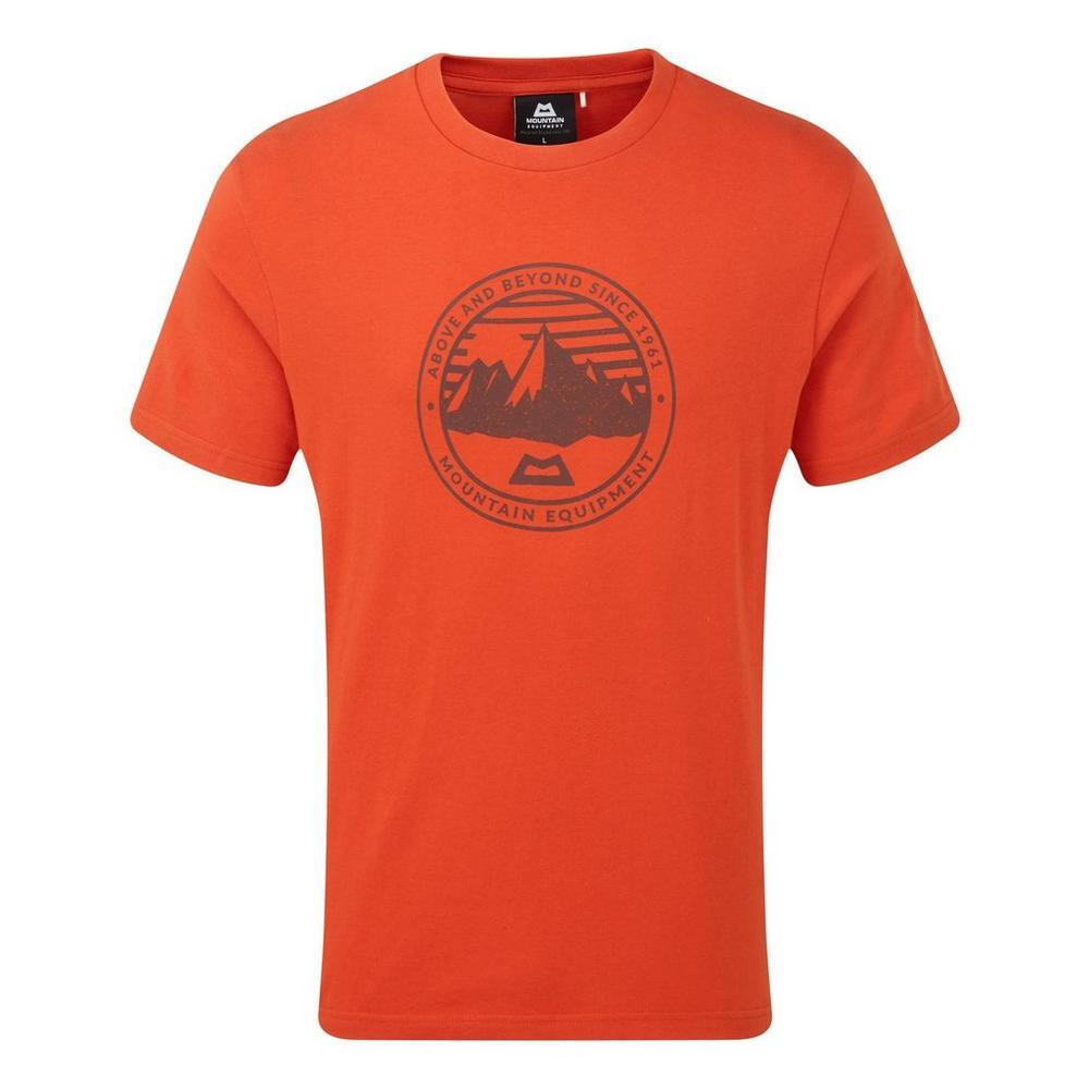 Mountain Equipment Men's Mountain Equipment Roundel Tee - Orange