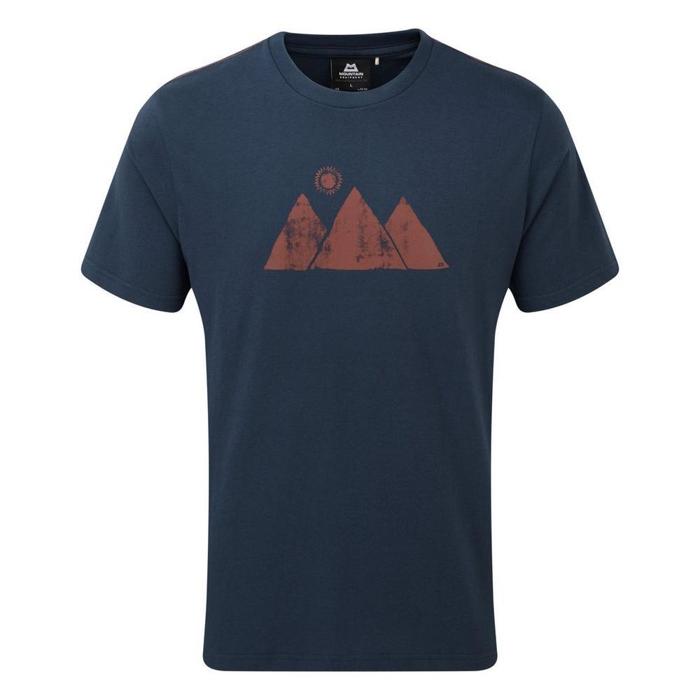 Mountain Equipment Men's Mountain Equipment Mountain Sun Tee - Navy