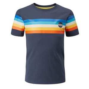 Kids' Half Moon Retro Stripe T-Shirt