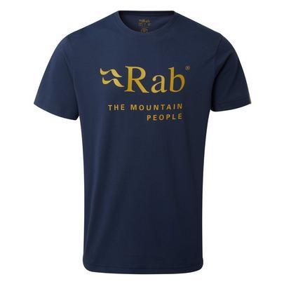 Rab Men's Stance Mountain Tee - Navy