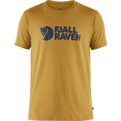 Fjallraven Men's Logo T-Shirt - Yellow