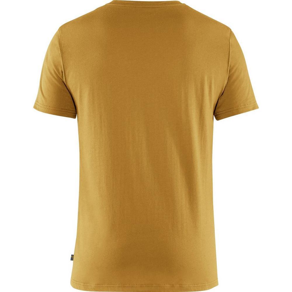 Fjallraven Men's Logo T-Shirt - Yellow