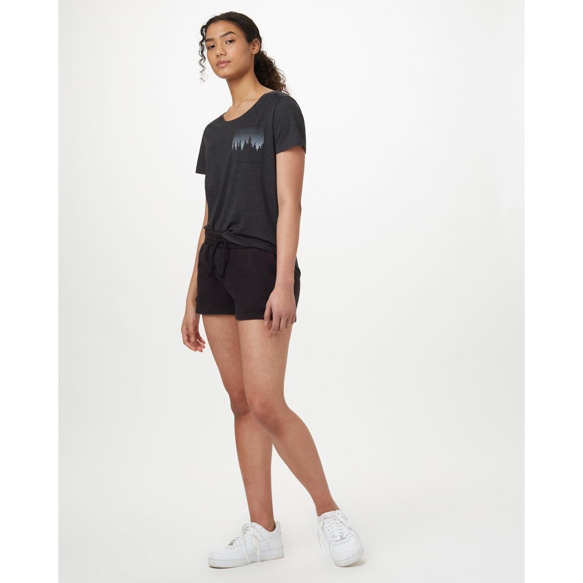 Tentree Women's Juniper Pocket T-Shirt - Black