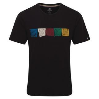 Men's Sherpa Adventure Tarcho SS T-Shirt - Black