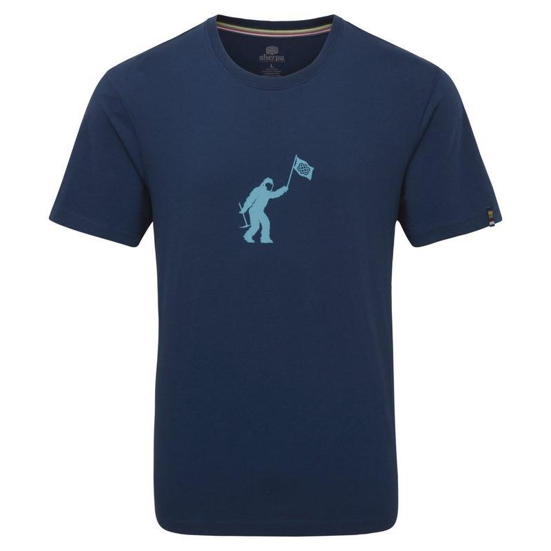 Men's Sherpa Adventure Mirka T-Shirt - Blue