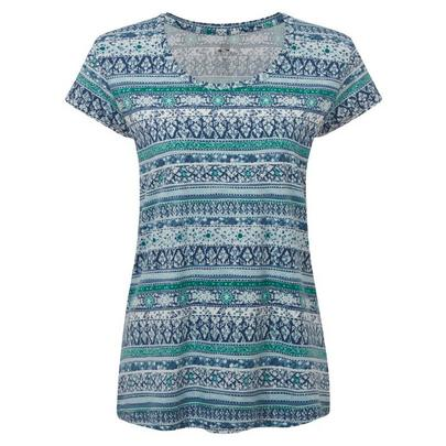 Sherpa Adventure Women's Kira Tee - Blue