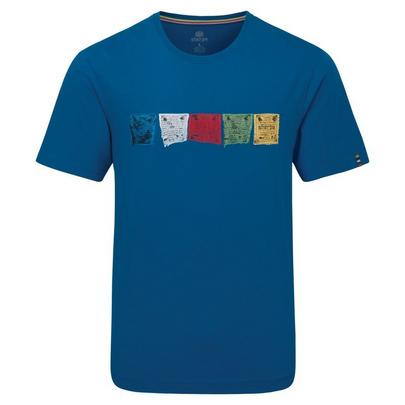 Sherpa Adventure Men's Tarcho Tee - Blue
