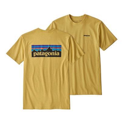 Patagonia Men's P-6 Logo Responsibili-Tee - Yellow