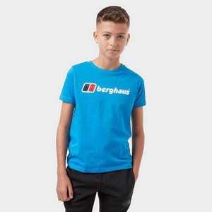 Kids Berghaus Logo Tee - Royal Blue