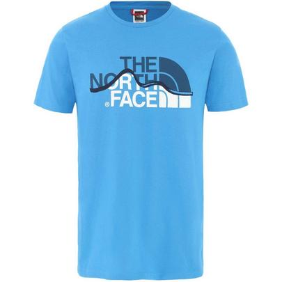 The North Face Men's Mountain Line T-Shirt - Blue