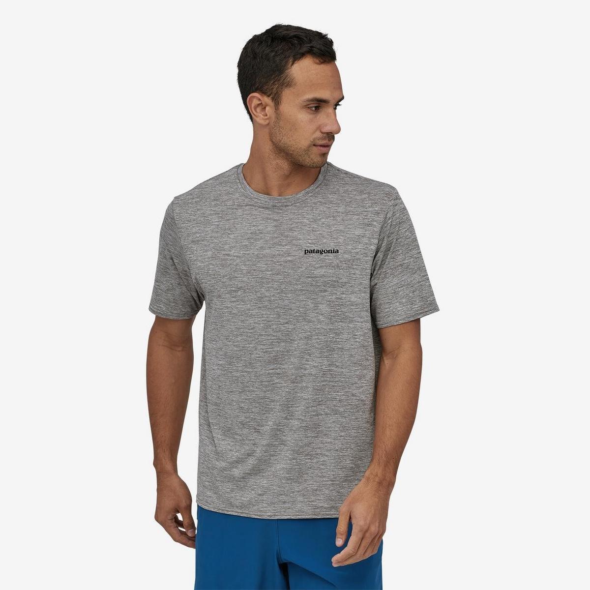 Patagonia Men's Patagonia SS Cap Cool Daily T-Shirt - Grey