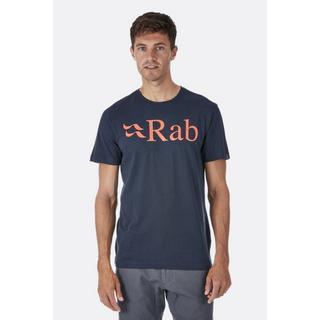 Men's Rab Stance Logo SS Tee - Grey