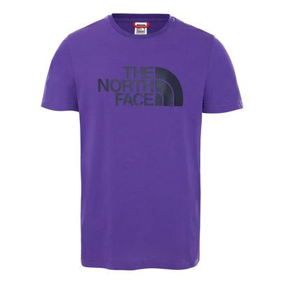 The North Face Men's Short Sleeved Easy T-Shirt - Purple