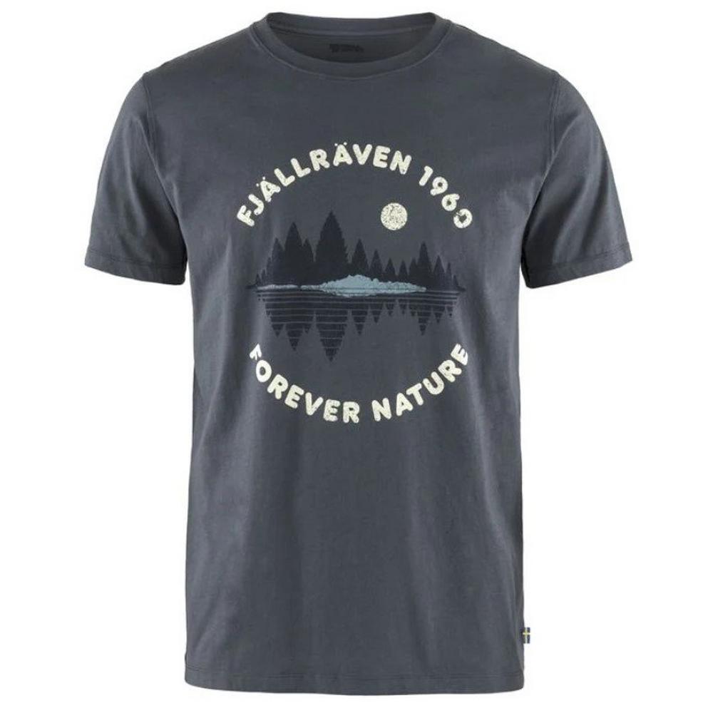 Fjallraven Men's Forest Mirror T-Shirt - Navy