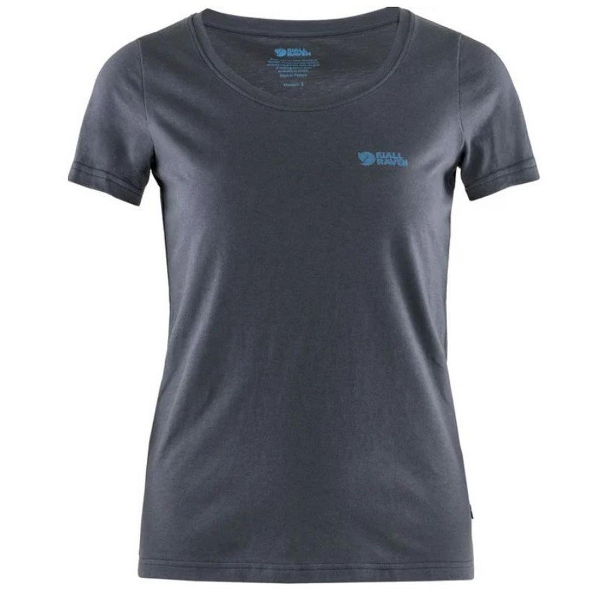 Fjallraven Women's Fjallraven Logo T Shirt - Navy