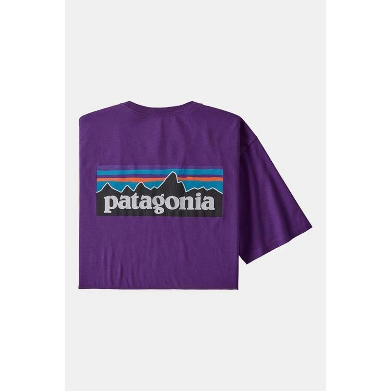 Men's P6 Logo Responsibili-Tee - Piton Purple