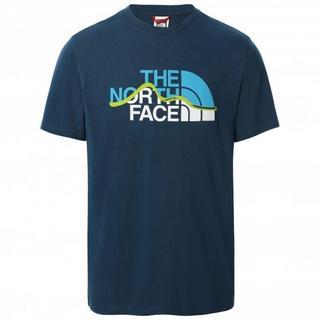 Men's Mountain Line Tee - Monterey Blue
