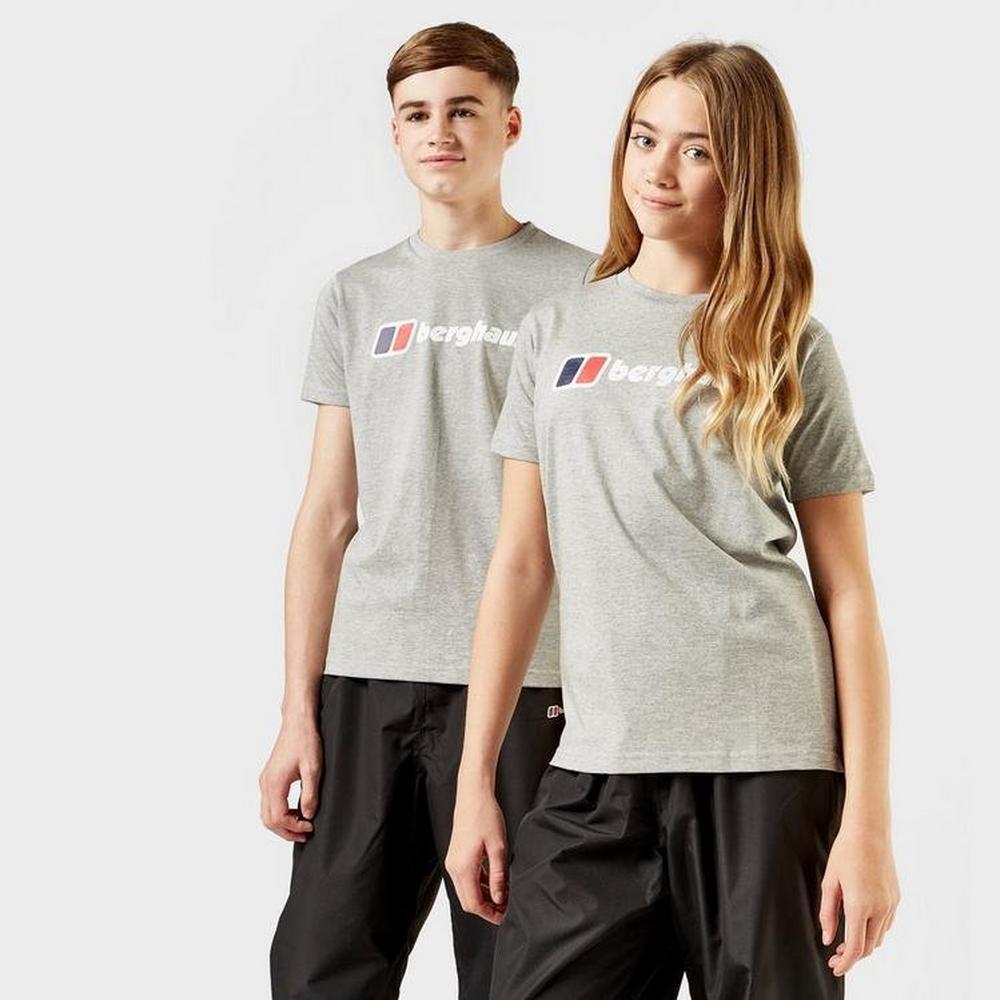 Berghaus Kids Berghaus Logo Tee - Grey