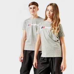 Kids Berghaus Logo Tee - Grey