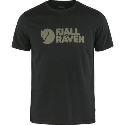 Fjallraven Men's Fjallraven Logo T-Shirt - Black