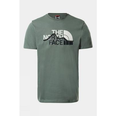 The North Face Men's Mountain Line T-Shirt - Green