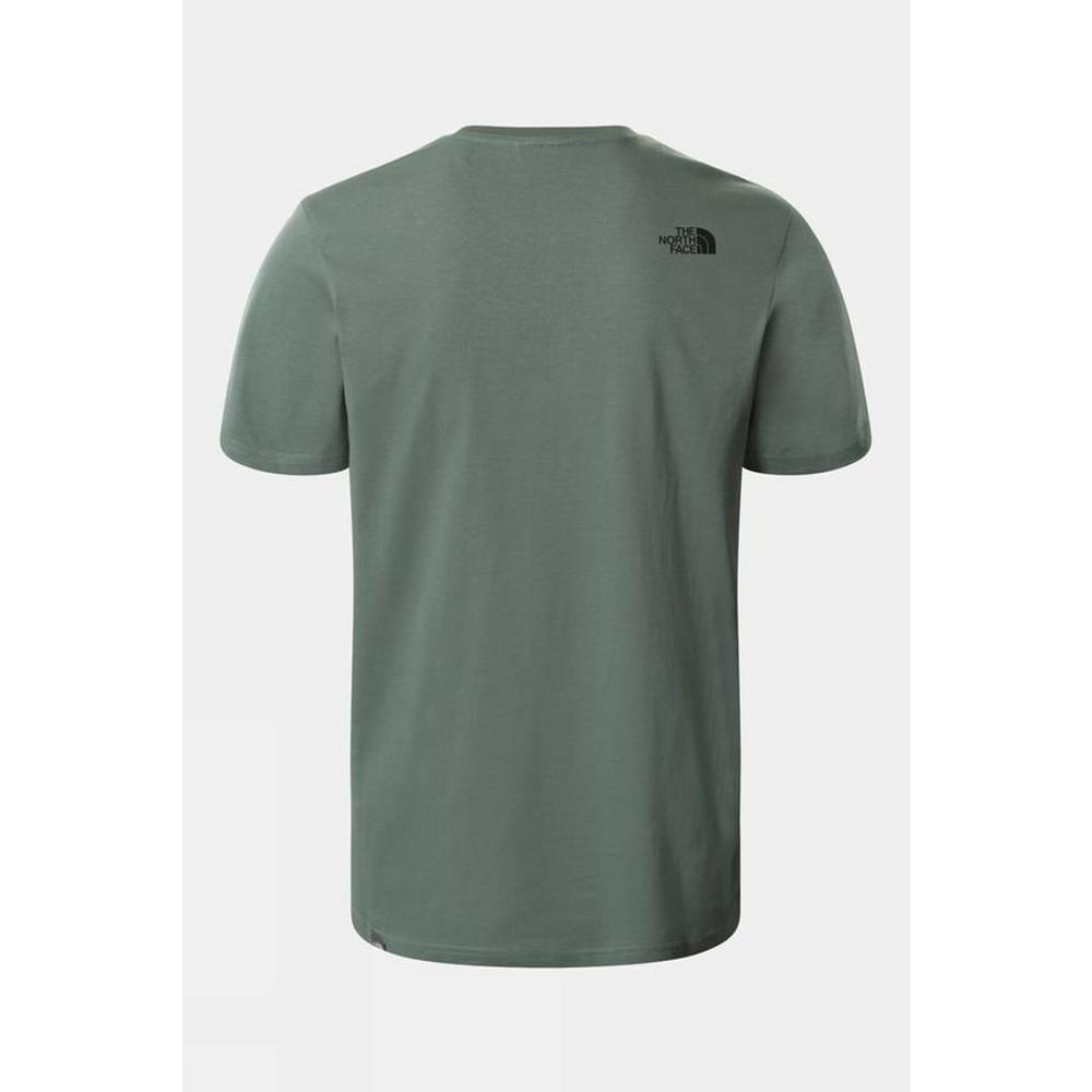 The North Face Men's Mountain Line Tee - Green