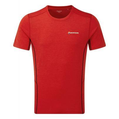 Montane Men's Dart T-Shirt - Alpine Red