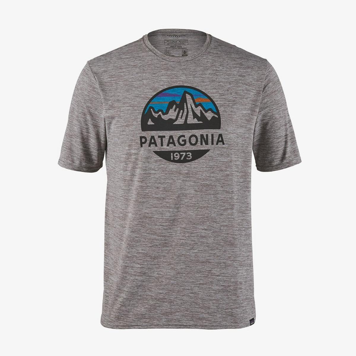 Patagonia Men's Patagonia Cap Cool Daily Graphic Shirt - Grey