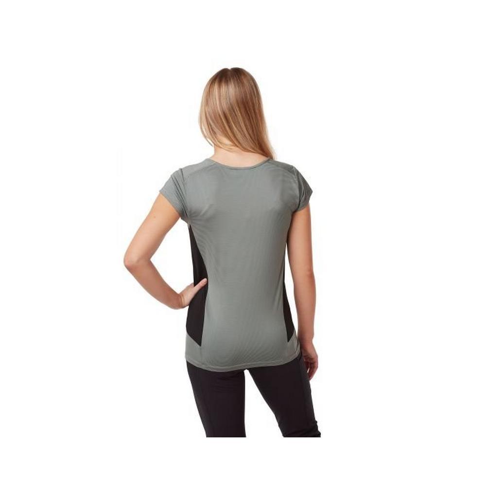 Craghoppers Women's Atmos SS T-Shirt - Grey