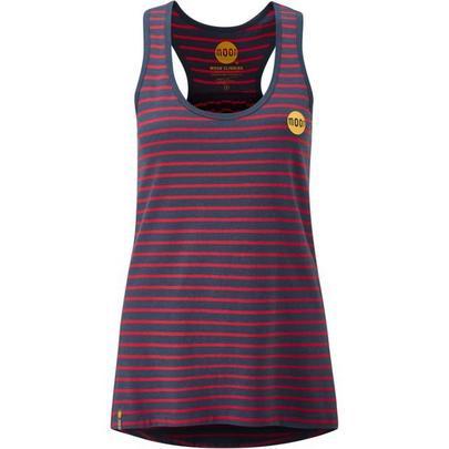 Moon Women's Striped Tech Vest - Red