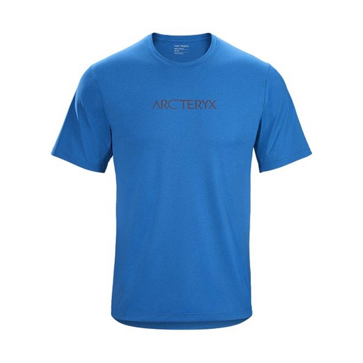 Arcteryx Arc'teryx Men's Remige Word T-Shirt SS - Blue