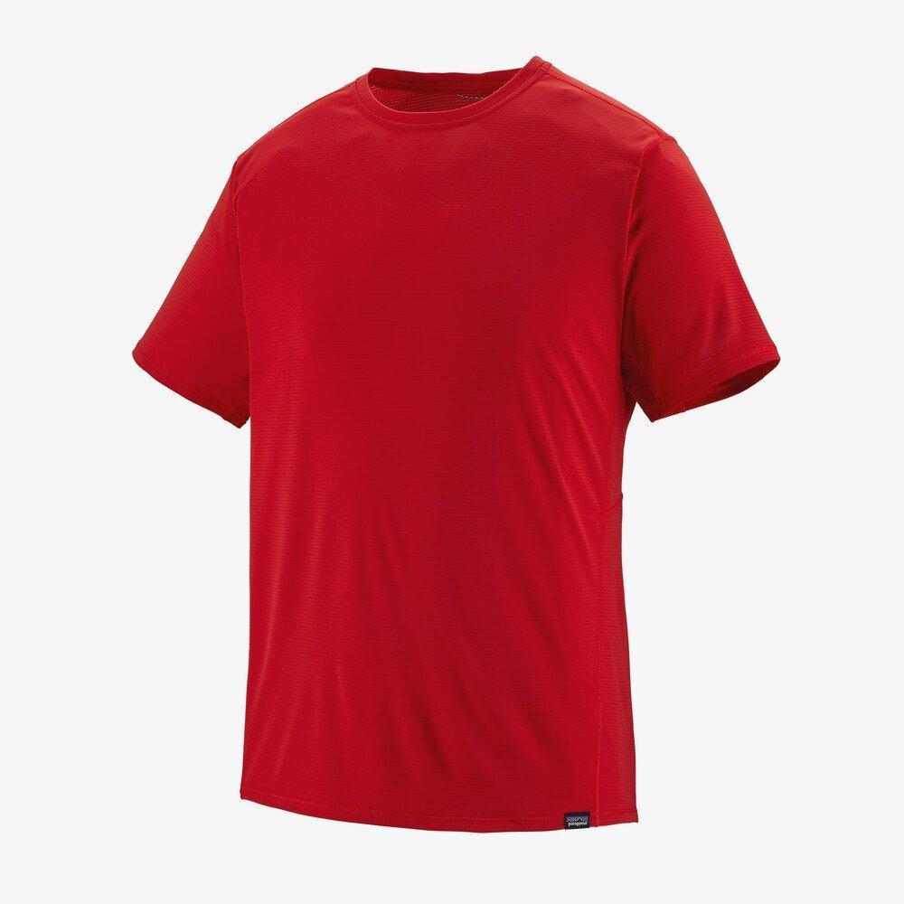 Patagonia Men's Patagonia Capilene Cool Lightweight T-Shirt - Red