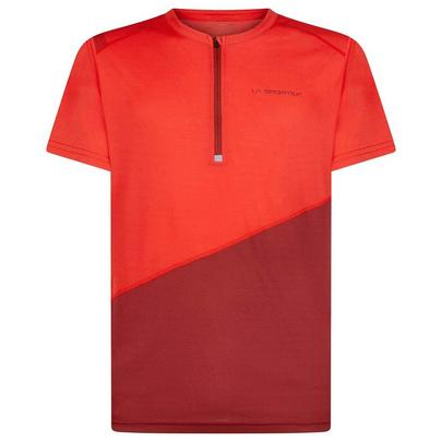 La Sportiva Men's Limitless Tee - Poppy Chilli