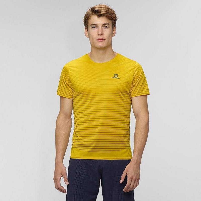 Men's Sense Tee - Yellow