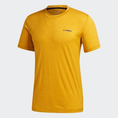 adidas Terrex Men's Tivid T-Shirt - Legacy Gold