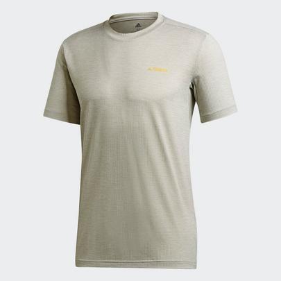 Adidas Men's Terrex Tivid T-Shirt - Metal Grey