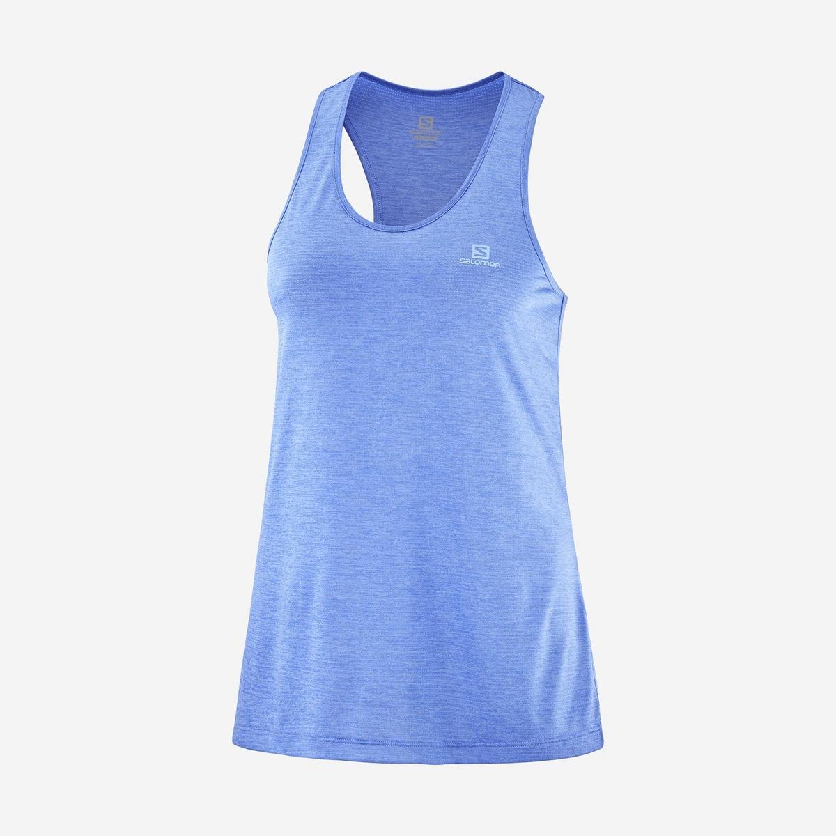 Salomon Women's Agile Tank - Blue