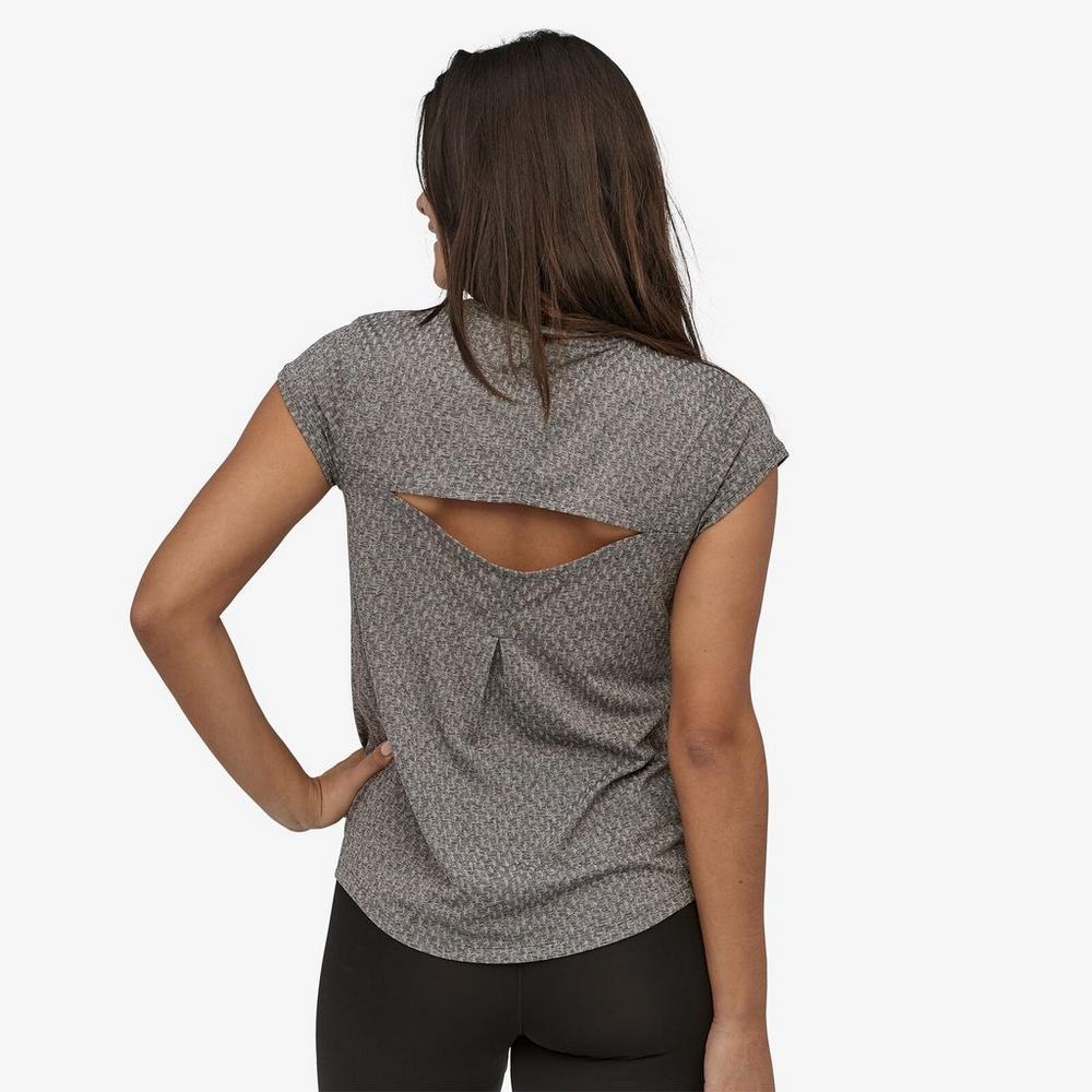 Patagonia Women's Ridge Flow T-Shirt - Black