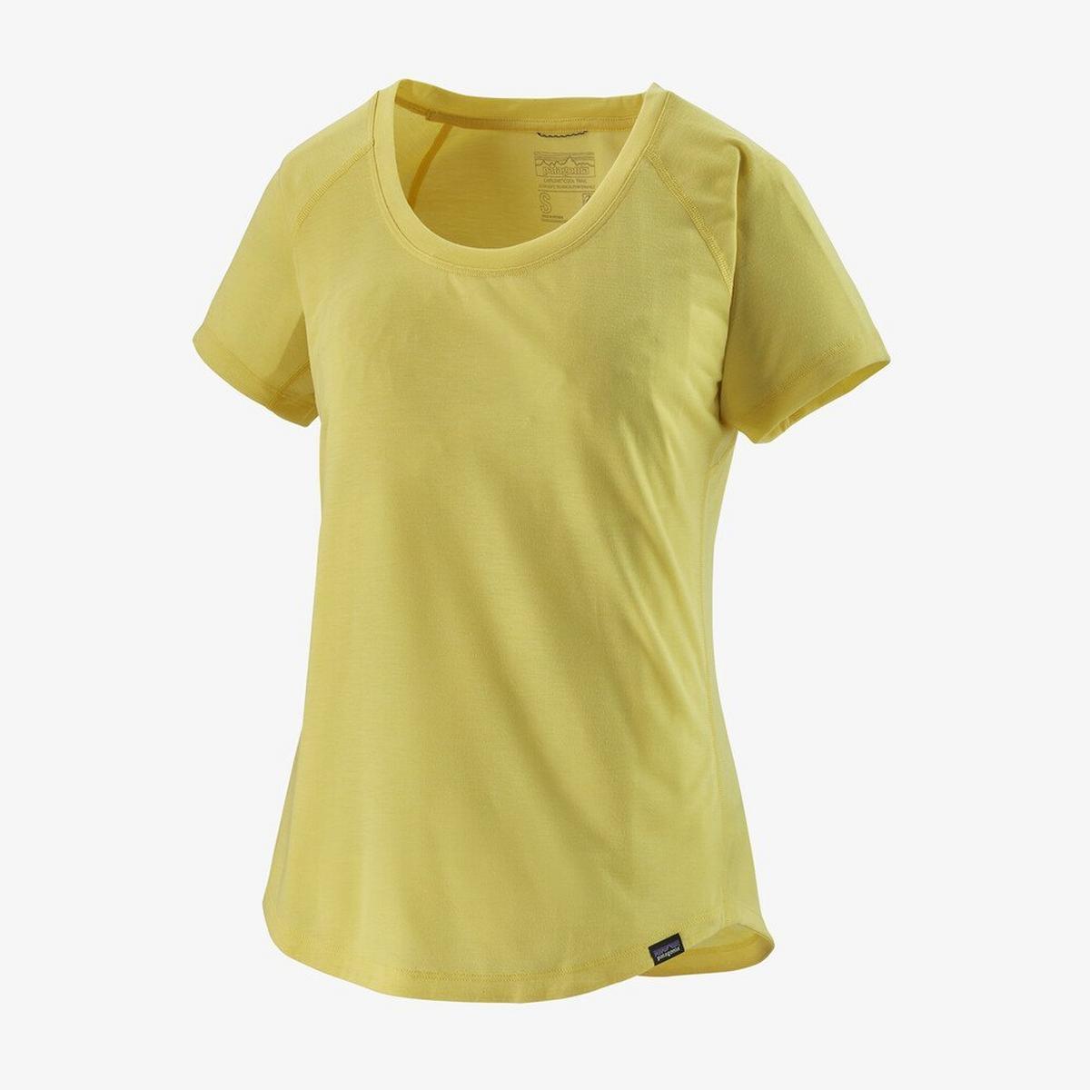 Patagonia Women's Capilene Cool Trail Shirt - Yellow