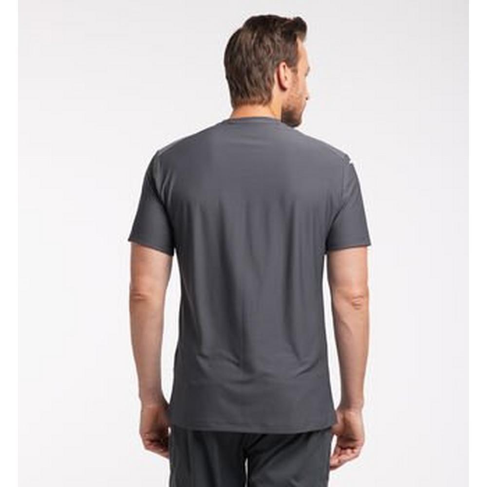 Haglofs Men's Lim Tech Tee - Grey